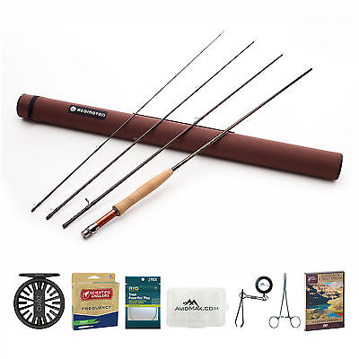 Redington Classic Trout Fly Rod & Zero Reel Outfit with SA Frequency Trout Line