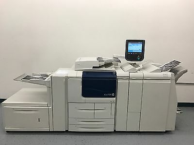 Xerox D125 FAST 125 pages per minute Black & White Copier Printer Scanner Low 2M