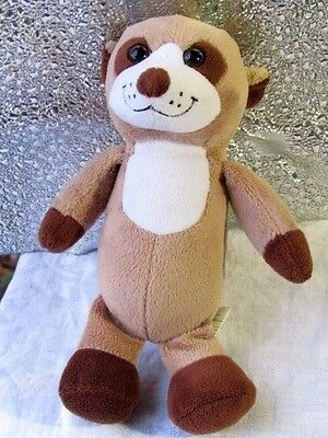 "KINDER SURPRISE  MEERKAT Beige Brown   9"" Doll  Plush Advertising Chocolate  EUC"