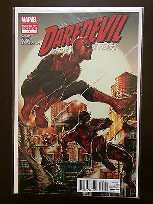 Spiderman Daredevil #8 2011 Variant Marvel Comic Book