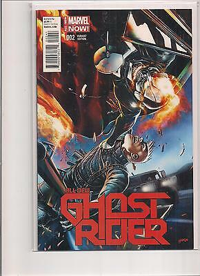 All New Ghost Rider #2 1:25 2014 Variant Marvel Comic Book. NM!