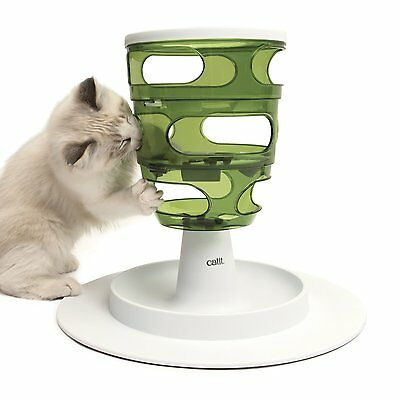 Catit Senses 2.0 FOOD TREE interactive treat & food maze for cats like hunting