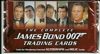 The Complete James Bond   007 -  Six Sealed Hobby Packs  2007