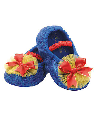 Snow White Disney Toddler Slippers Toddlers Costume Accessory Up to Size 6