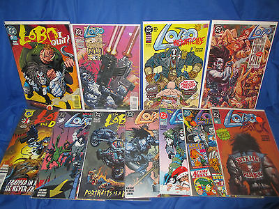 Lot of 11 DC Lobo #1's and One Shot Special, I Quit, The Duck, Gallery, Back
