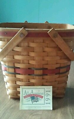1991 Longaberger Basket All American Collection