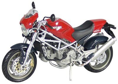 Diecast model Ducati Monster S4 Red Road Bike 1:12 Motorcycle NewRay