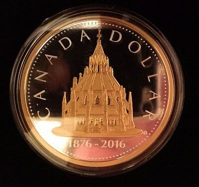 2016 Canada Library of Parliament 2 oz Silver Proof Coin Masters Club Renewed #2