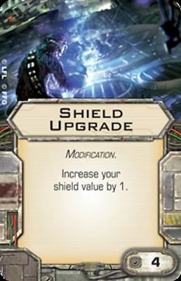 Star Wars X-wing Miniatures Shield Upgrade MODIFICATION upgrade card