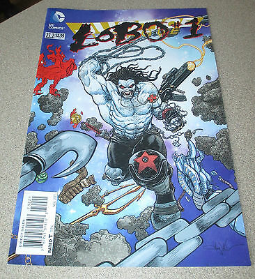 Justice League #23.2 To 23.4 Lobo #1 Secret Society Dial E New 52 Dc