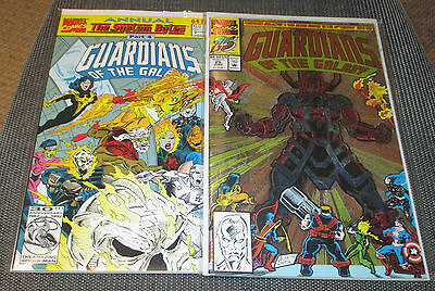 Guardians Of The Galaxy #25 & # 2 Annual Marvel