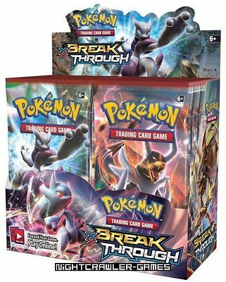 1x Pokemon TCG XY BREAKthrough Booster Box #Trading Cards-Original-New&Sealed #