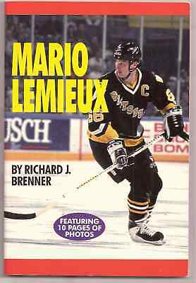 Mario Lemieux featuring 10 pages of photos