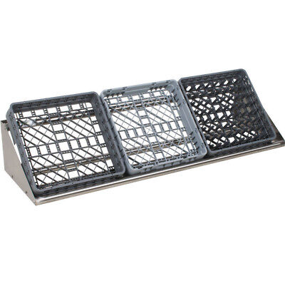 """62"""" Wall Mount Stainless Steel Glass Dish Glass Rack Shelf Commercial Dishwasher"""