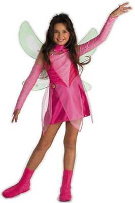 Flora Winx Club Costume - Small ( Size 4-6 ) 5852