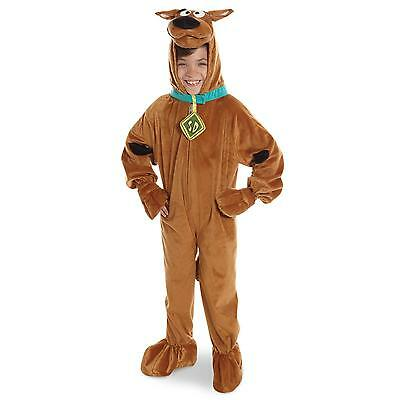 Scooby Doo Deluxe Plush Kids Costume - Large ( Size 12-14 ) 882092