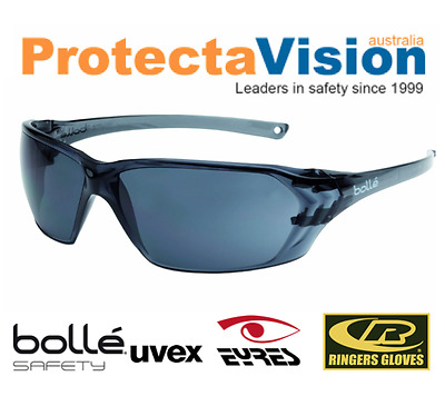 New BOLLE PRISM Safety Glasses * 10 PACK * 5 Colour Options! FREE POSTAGE!