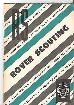 Scouts Canada - Rover Scouting Booklet - 31 pages