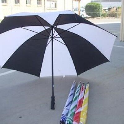 "48"" Inch 122Cm Large Rain Golf Umbrella - Various Colours - Single Canopy -"