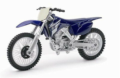 1:18 Yamaha YZ450F Diecast Dirt bike Model Motorcycle Cake Toper