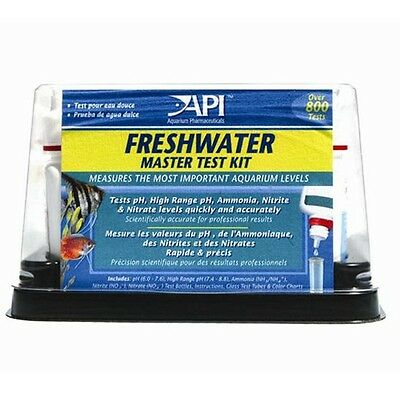 API FRESHWATER MASTER KIT 5-In-1, Over 800 Tests, Highly Accurate *USA Brand