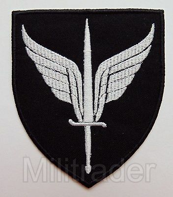 Norway Norwegian Special Forces Armed Forces Special Command (FSK) Patch (BW)