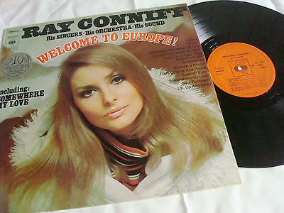 """lp"" Ray Conniff Welcome To Europe His Singers His Sound"