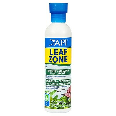API AQUARIUM LEAF ZONE 237ml Contains Iron & Potassium For Lush, Colorful Leaves