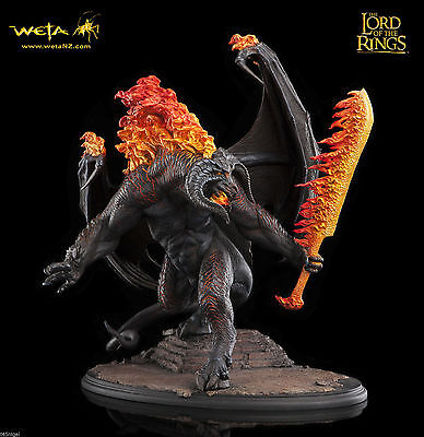 The Lord Of The Rings The Balrog Demon of Shadow and Flame IN STOCK Weta