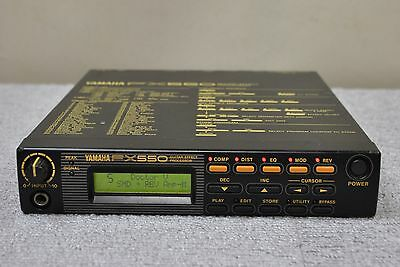YAMAHA FX-550 Guitar Digital Effects Processor Multi Effects made in Japan FX550