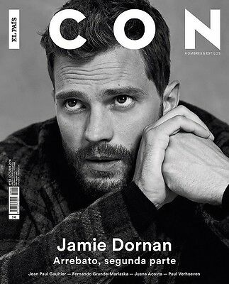 Jamie Dornan Icon Spain October 2016 Cover 50 Shades Of Grey Fifty Darker
