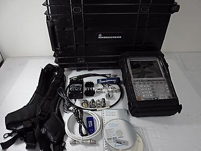 ROHDE SCHWARZ ZVH4,K40 3.6 GHz CABLE & ANTENNA ANALYZER, Calibrated