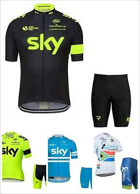 2017 Pro Team Cycling Jersey and Shorts Set