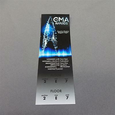 Nashville Tv Show Screen Used Prop 48Th Cma Award Ticket Ep 308