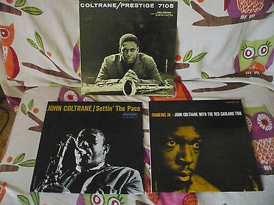 John Coltrane -  3 Lp Prestige - Near Mint
