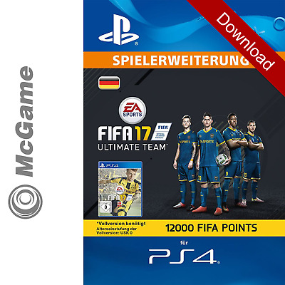 FIFA 17 - 12000 FUT Ultimate Team Points | PS4 Code | Playstation Network (PSN)