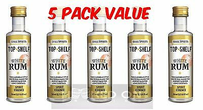 Still Spirits Top Shelf WHITE RUM - 5 Pack - Spirits, Liqueurs, Homebrew