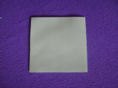 100MM x 100MM 10CM SQUARE 1MM THICK GREY THERMAL SILICONE HEAT SINK TRANSFER PAD