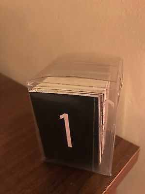 Rare Unique Children's Counting Number Cards 1-100 In Box
