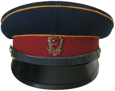 Cap mounted police officers M1923 WW1 Soviet Union Replica  custom made any size