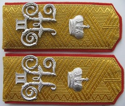 Shoulder-straps General of Infantry Nicholas 2, Imperial Russian Army, Replica