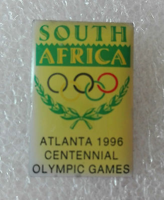 SOUTH AFRICA OLYMPIC OFFICIAL PIN Badge ATLANTA 1996