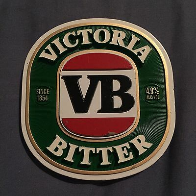VB Beer Tap Badge, Decal, Top Great Condition