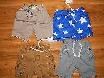 NEXT River Island boys shorts bundle 9-12 months  *I'll combine postage
