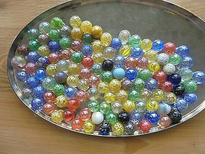 USED lot of approx 120 exciting marbles!_WOAH!!!!!!!_ships from AUS!_xx49_A4a114