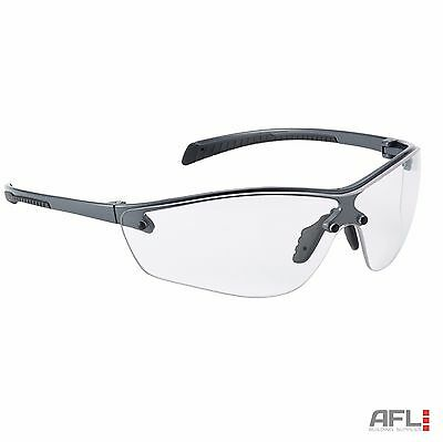 Bolle Silium+ SILPPSI Platinum Anti-Fog Anti-Scratch Clear Lens Safety Glasses