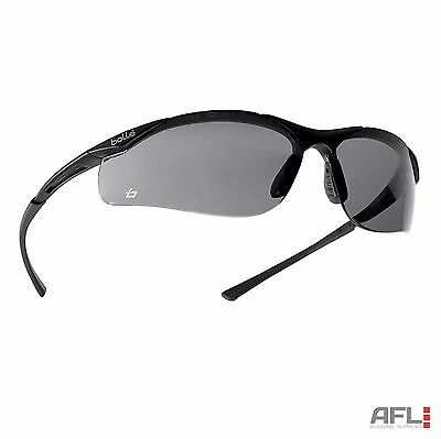 Bolle Contour Anti-Fog Anti-Scratch Safety Spectacles Glasses - Smoke Lens