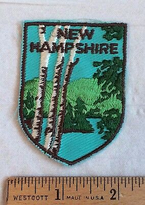 NEW HAMPSHIRE State Souvenir Patch Badge Voyager
