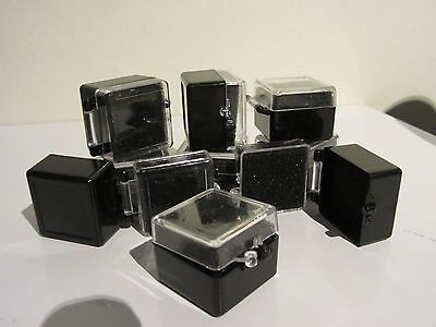Coin Plastic Display Case - Small (lot of 30 in box)