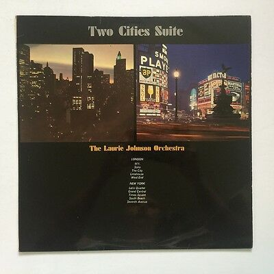 The Laurie Johnson Orchestra - Two Cities Suite - 1966 England - PYE - Vinyl LP